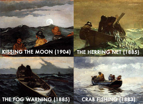 Regina Spektor All the Rowboats Lyrics Meaning & Winslow Homer Row Boat Paintings