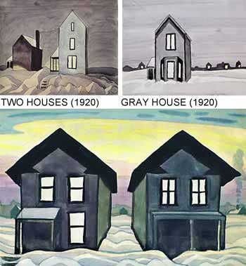 Charles Burchfield Art: Haunted House Pictures?