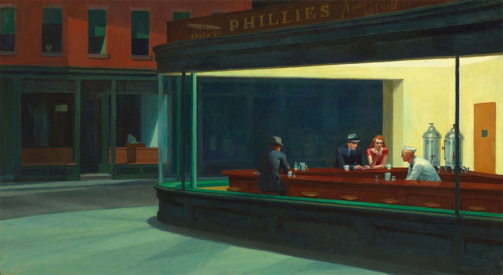 Edward Hoppers Nighthawks Painting Meaning & Film Noir