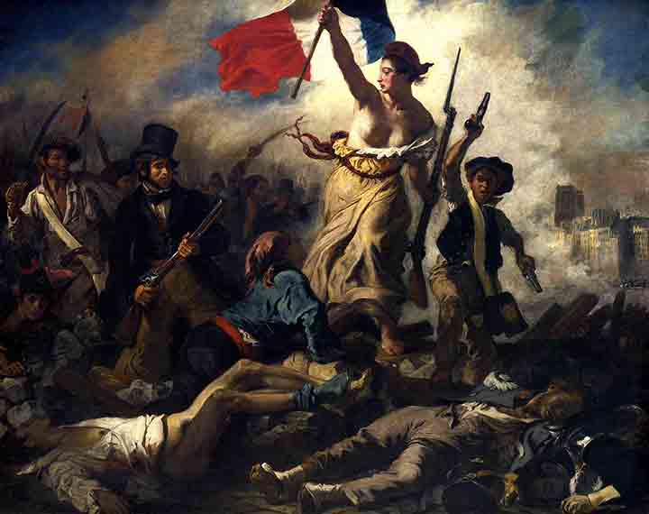 Eugene Delacroix Liberty Leading the People Analysis: Coldplay Cover Art