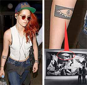 Kristen Stewart Tattoo Meaning
