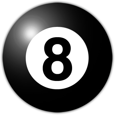 Magic Eight (8) Ball Game: Ask Yes/No Questions for Accurate Answers