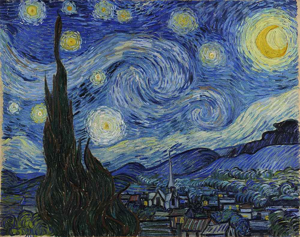 Meaning of Vincent Van Goghs Starry Night Painting