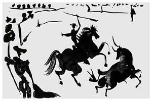 Pablo Picasso Tauromaquia Spanish Bullfight Art