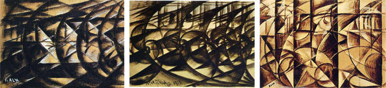 Time And Motion In Art Futurist Paintings Of Movement