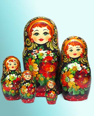 Matryoshka Nesting Dolls: Meaning of Russian Wooden Stacking Doll