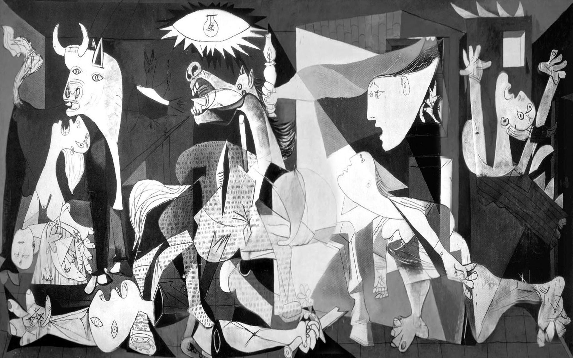 Guernica Painting by Pablo Picasso - High Resolution