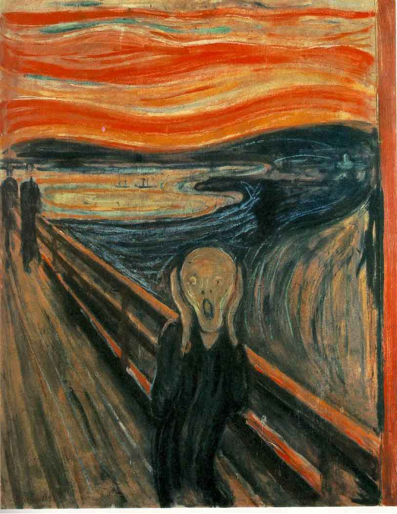 Meaning Of The Scream 1893 Painting By Edvard Munch Art